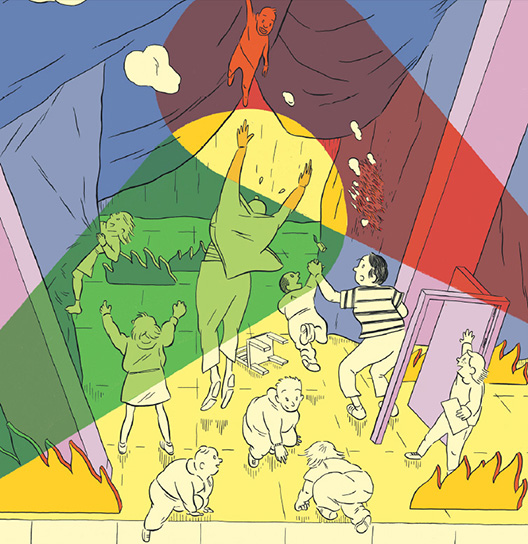 Interaktiv scenekunst for barn - tyranni eller magi?