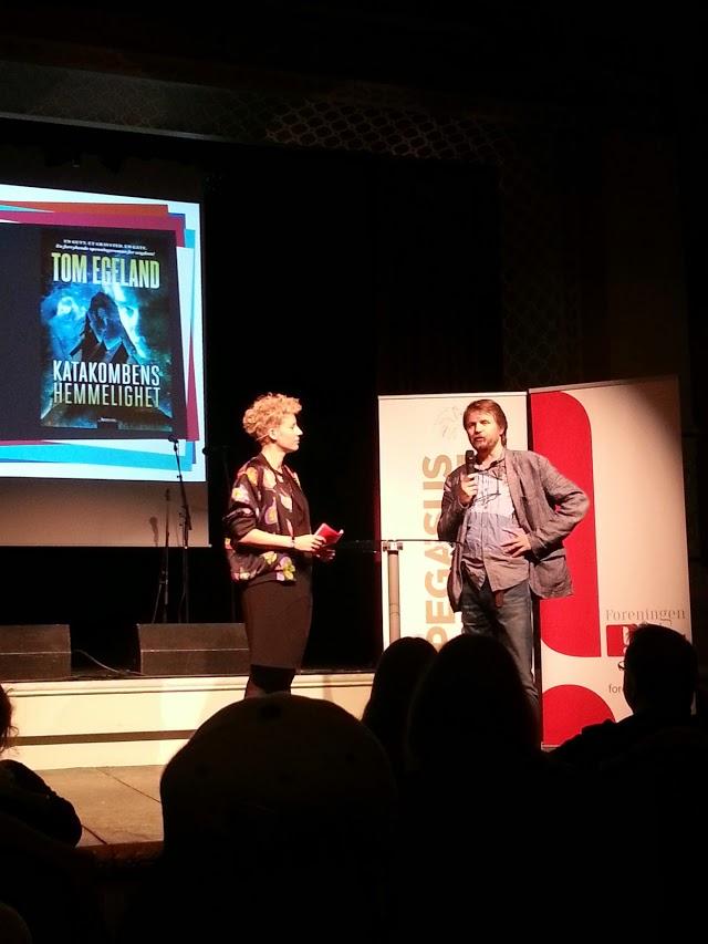 U-showet på Norsk Litteraturfestival 2014