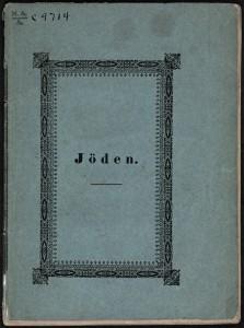 Joden av Wergeland - Nasjonalbiblioteket