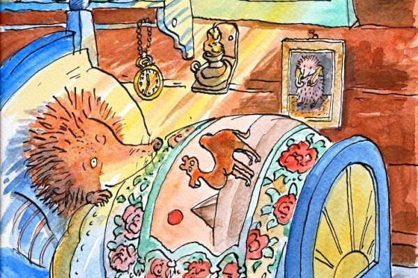 Jan-Kåre Øien. Månedens illustratør juli og august 2015