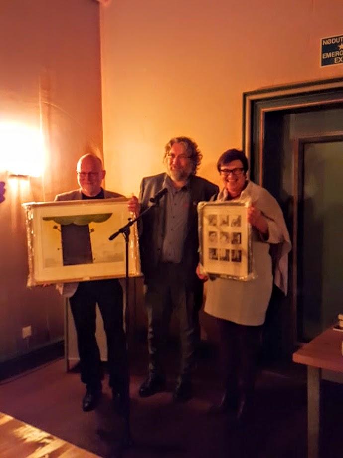 To priser til NBIs forfatterutdanning i 2015