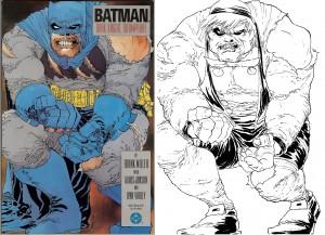 Frank Miller Dark Knight copy