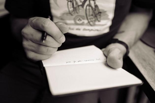 Fem mulige forutsetninger for å skrive skjønnlitterært