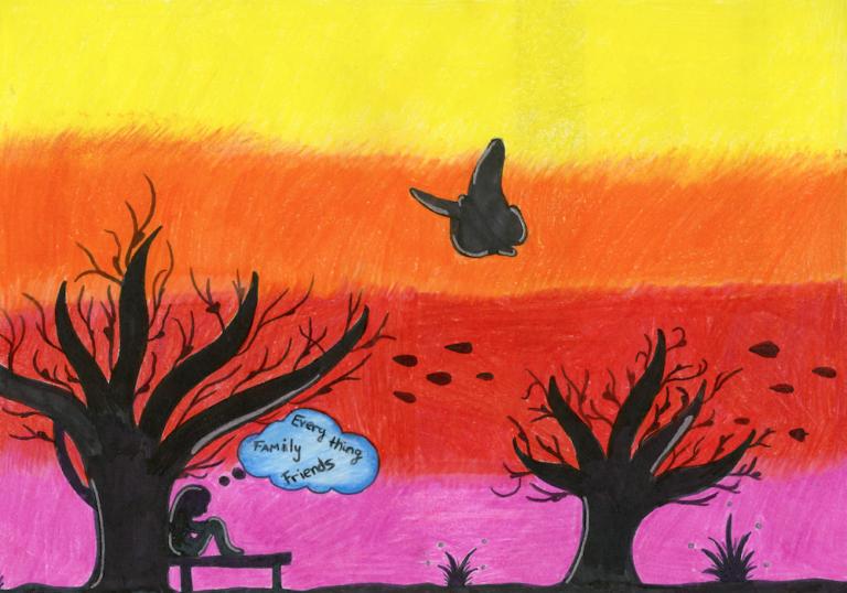 Hvis jeg måtte flykte... - utstilling på Det Internasjonale Barnekunstmuseet