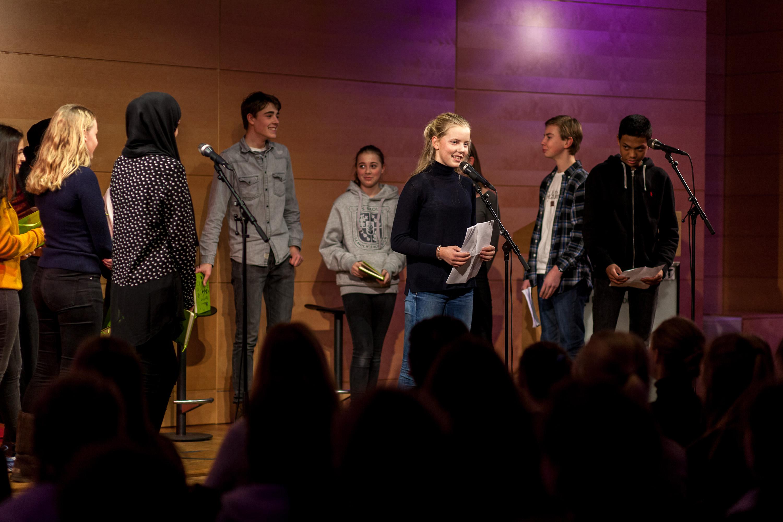 Litterære ungdommer fra Rommen og Ris