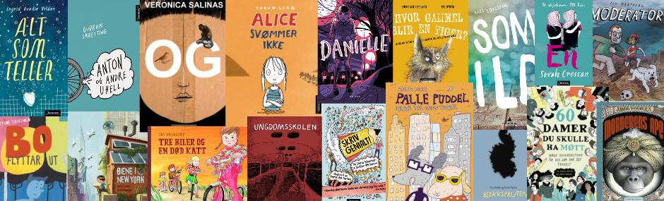 Nominasjoner til Kulturdepartementets priser for barne- og ungdomslitteratur utgitt i 2016