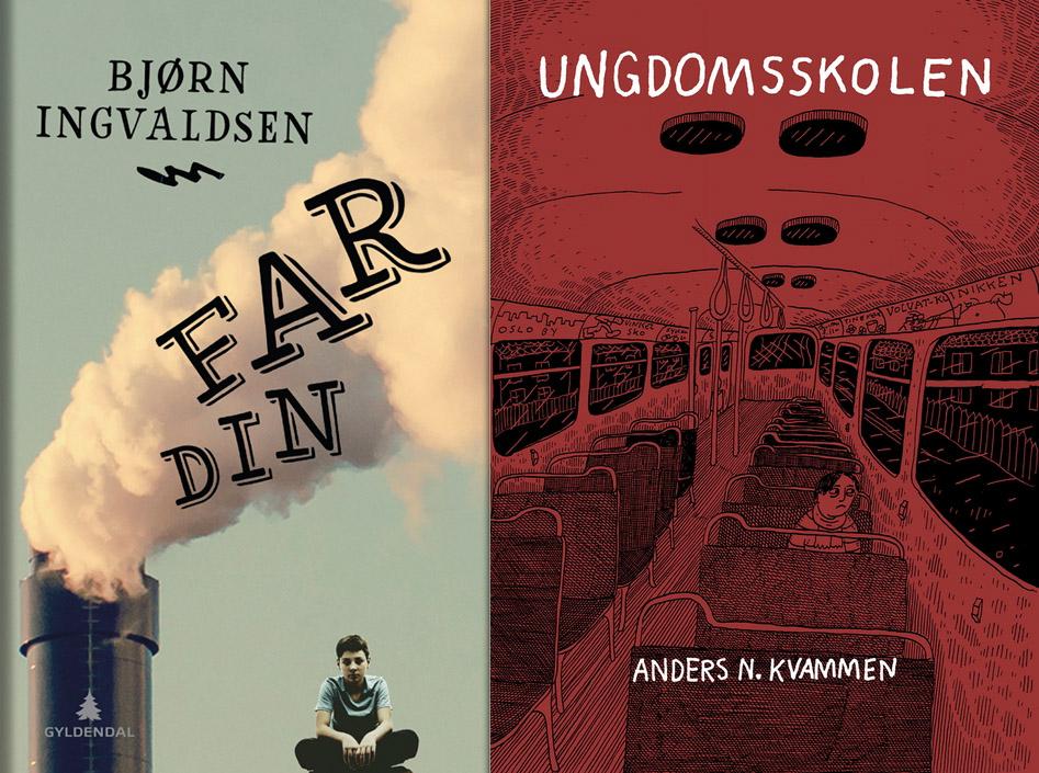 <i>Far din</i> og <i>Ungdomsskolen</i> nominert til Nordisk råds barne- og ungdomslitteraturpris