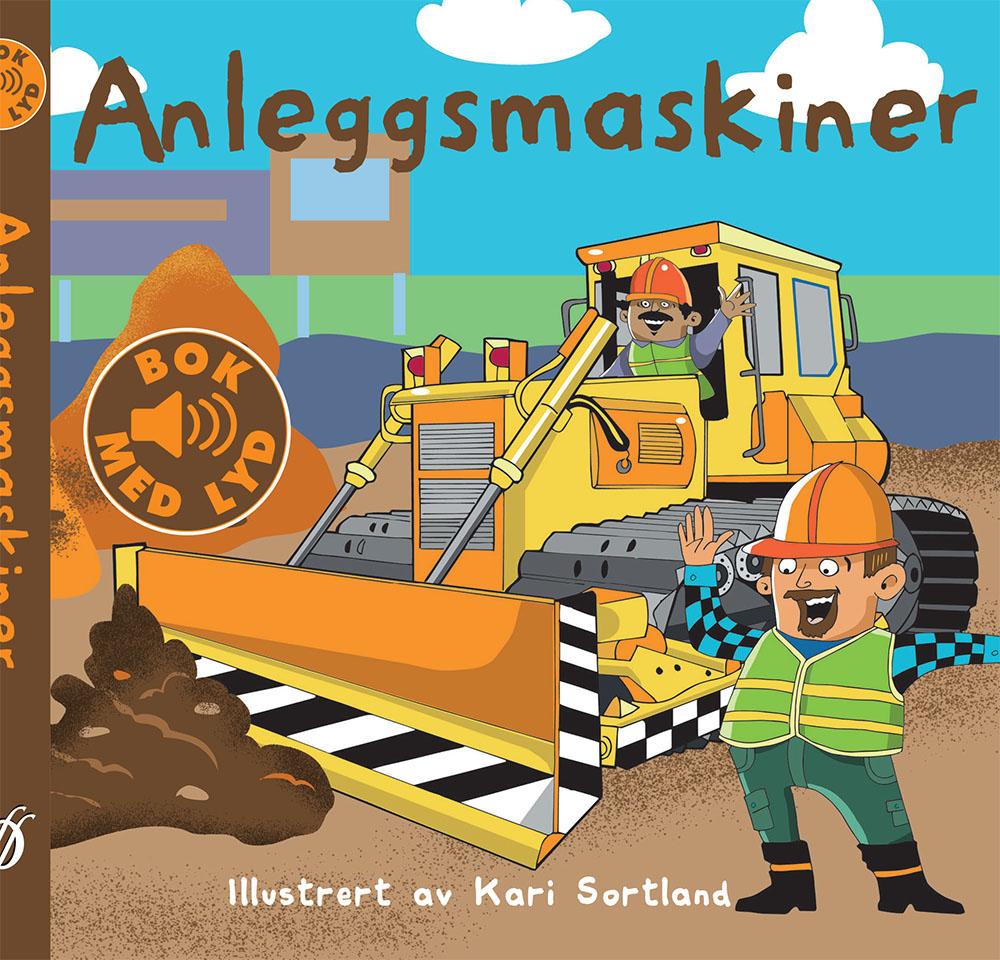 """""""Anleggsmaskiner"""", Fortellerforlaget Finn Valgermo, 2016"""