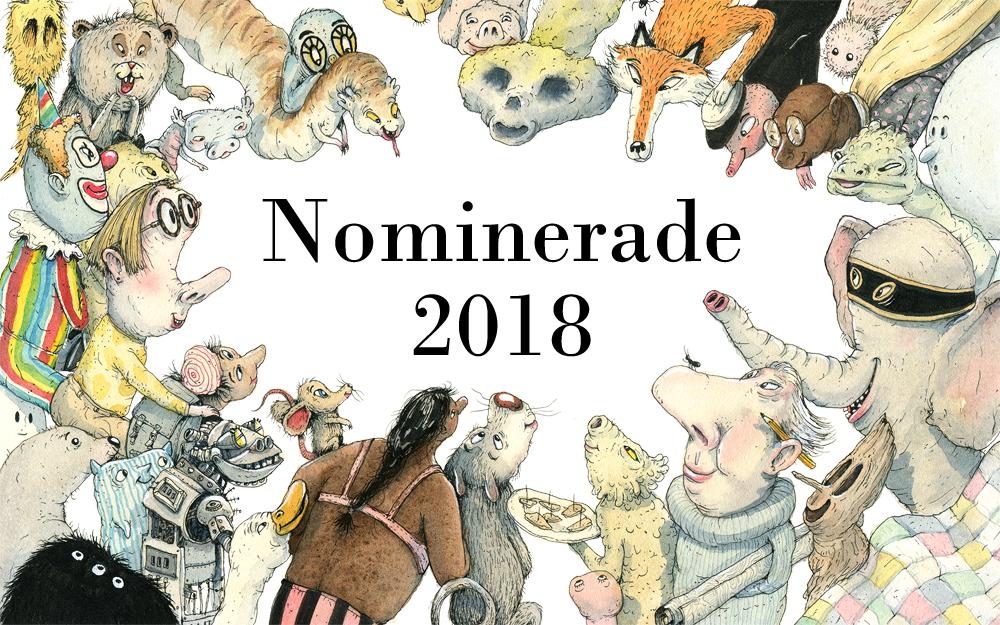 De nominerte til Astrid Lindgren Memorial Award 2018 er offentliggjort