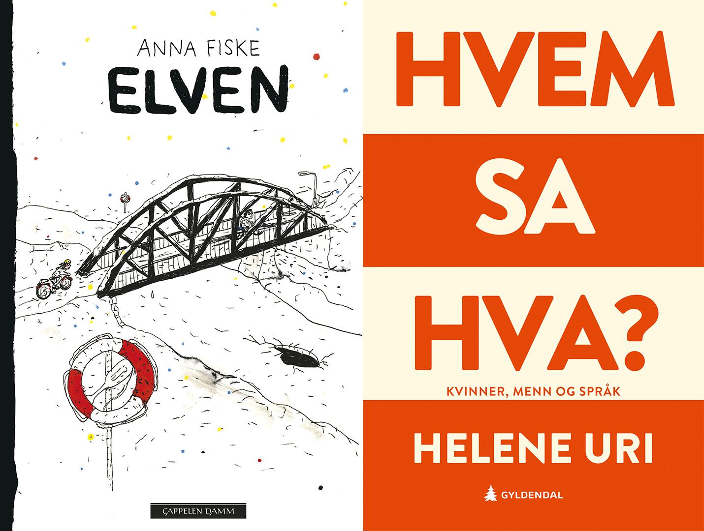 Anna Fiske og Helene Uri - bokomslag