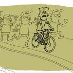 Fra 'Den umulige sykkelen' av Arne Svingen, 2016, Gyldendal