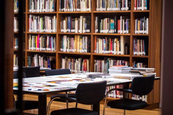 Illustrasjonsfoto - bibliotek