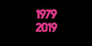 40 år 1979–2019