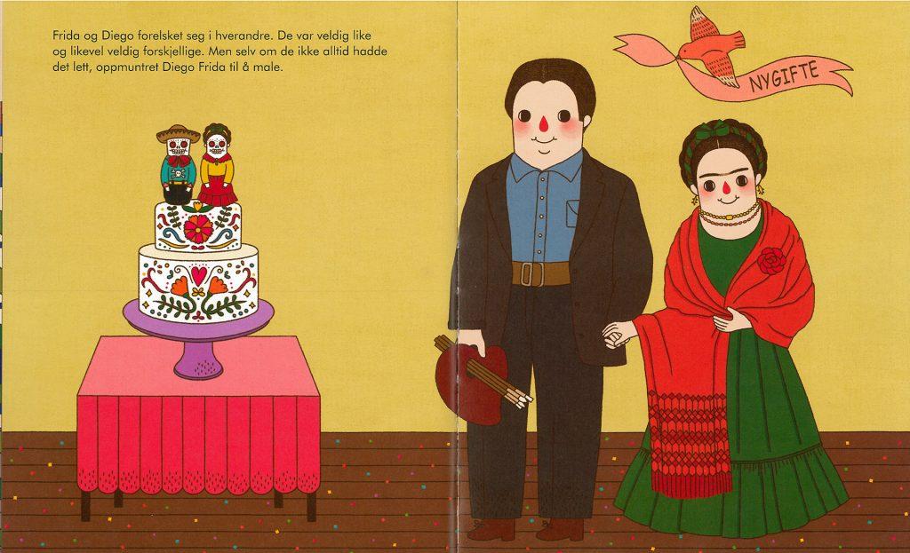 Små folk, store drømmer. Frida Kahlo.