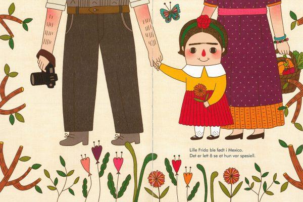 Frida Kahlo. Små folk, store drømmer