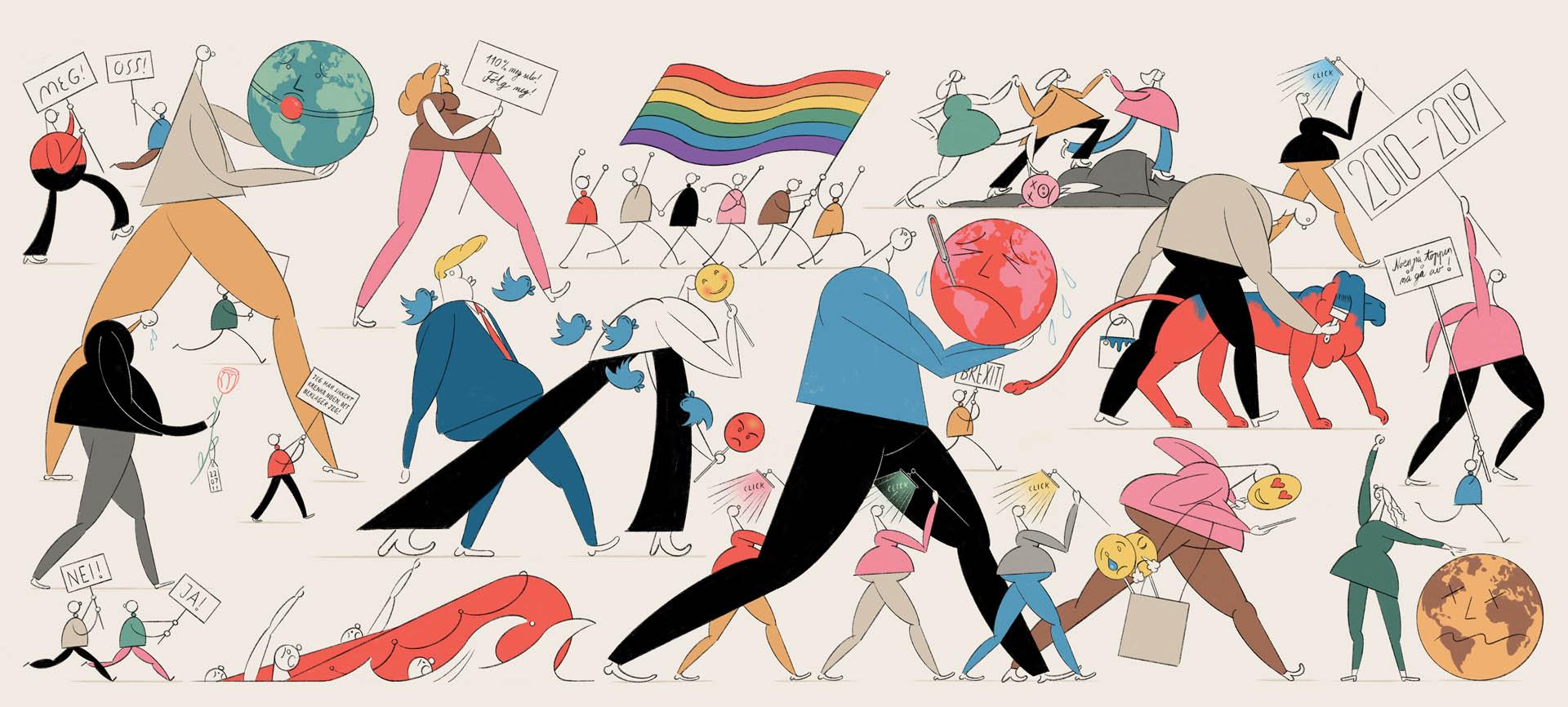 Åge Peterson – månedens illustratør i mars 2020
