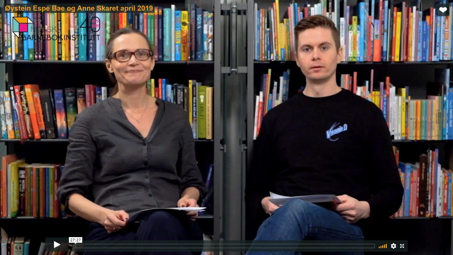 Anne Skaret og Øystein Espe Bae