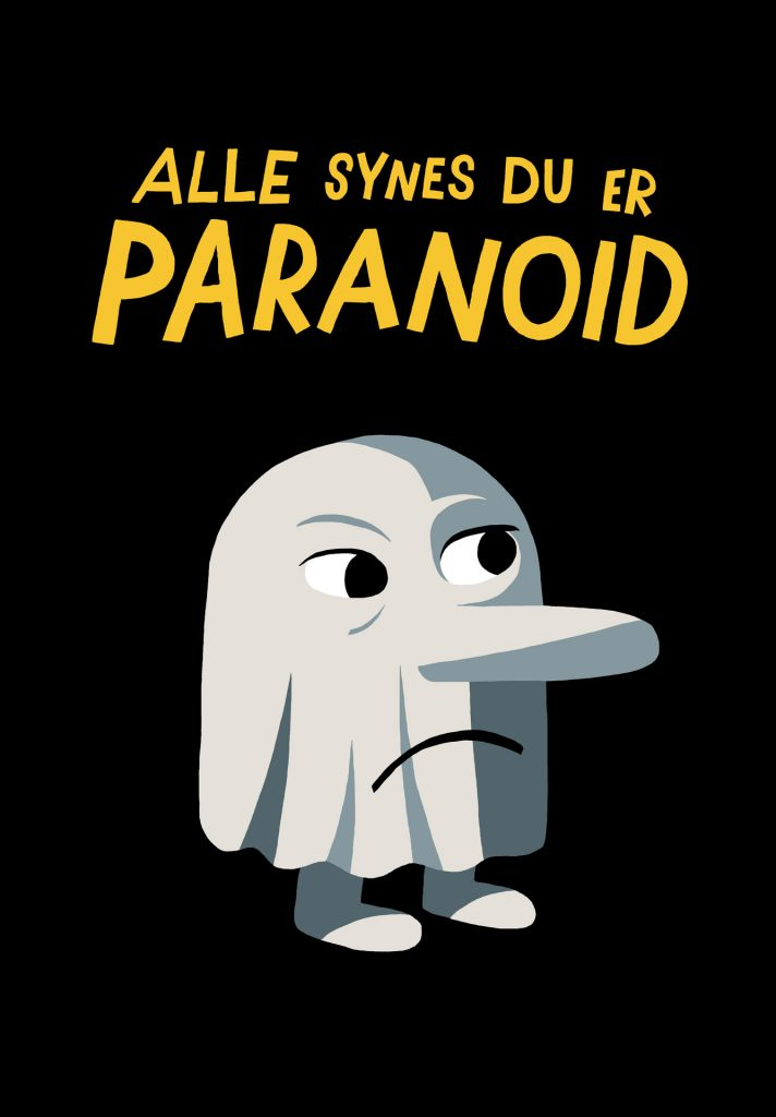 Alle synes du er paranoid/Moderate vrangforestillinger, Galleri Galleberg 2014