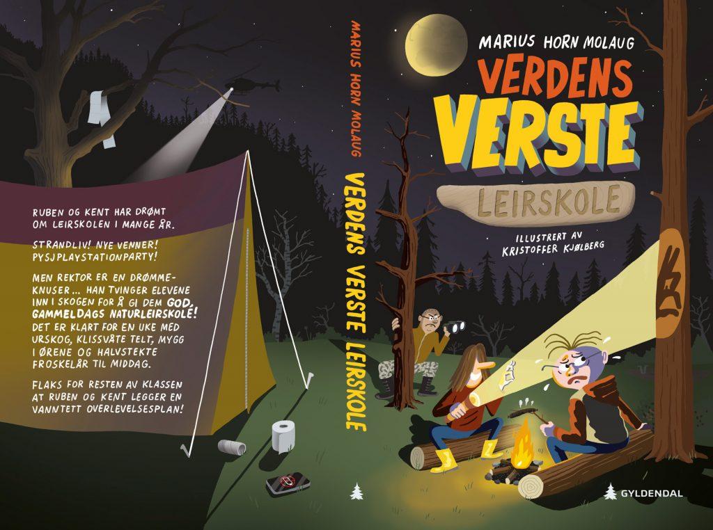 Verdens verste leirskole, Gyldendal 2019