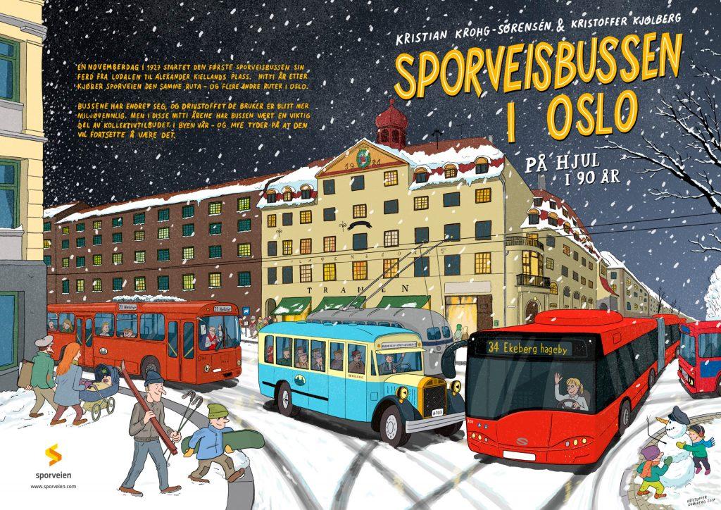Sporveisbussen i Oslo – På hjul i 90 år, Sporveien 2017