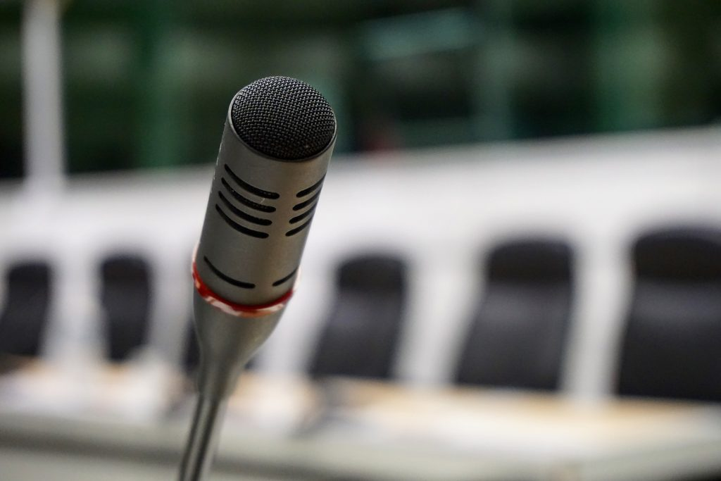Illustrasjonsfoto, mikrofon