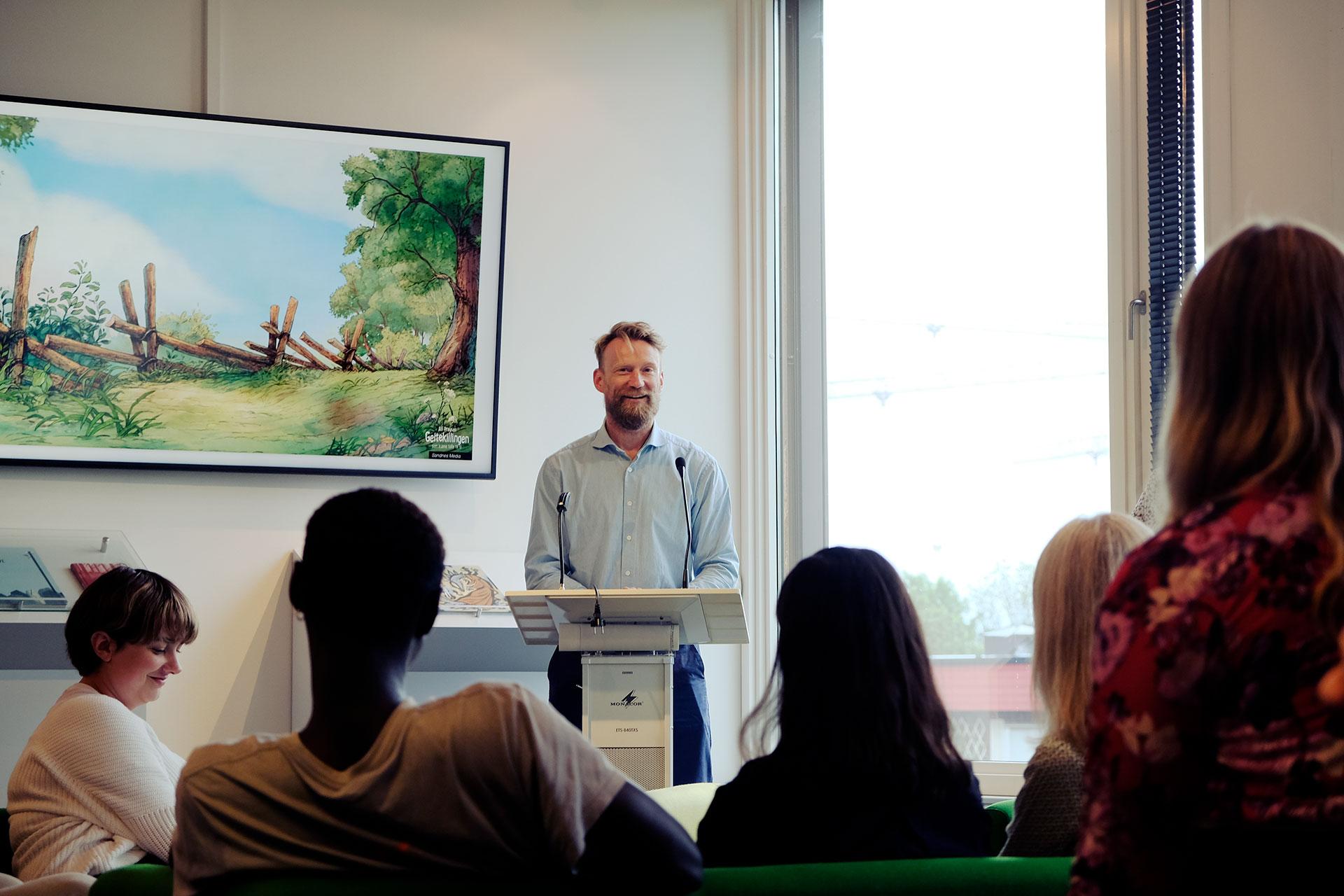 Steffen Sørum - forfatterutdanningen