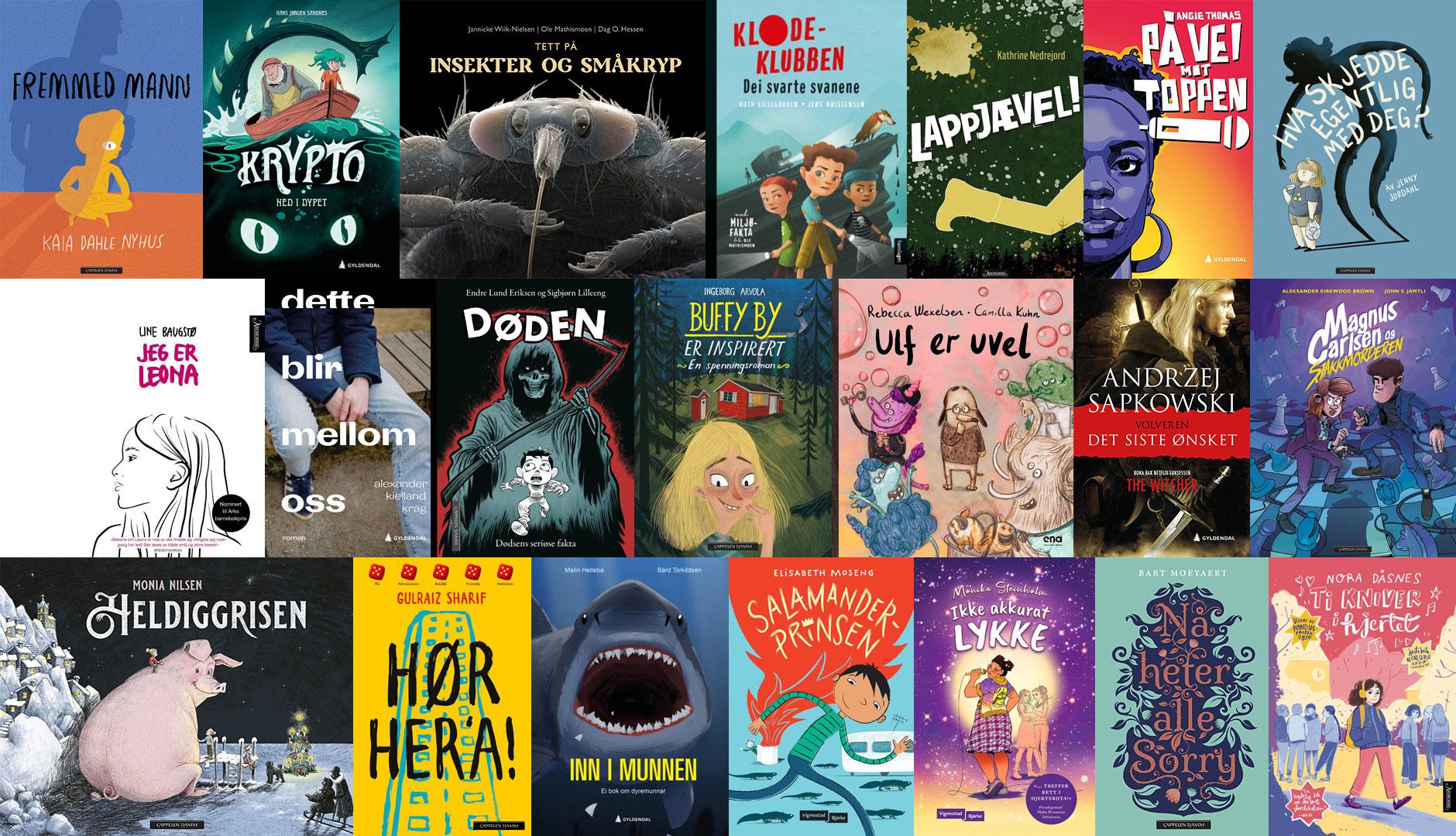 Nominasjoner til Kulturdepartementets priser for barne- og ungdomslitteratur utgitt i 2020