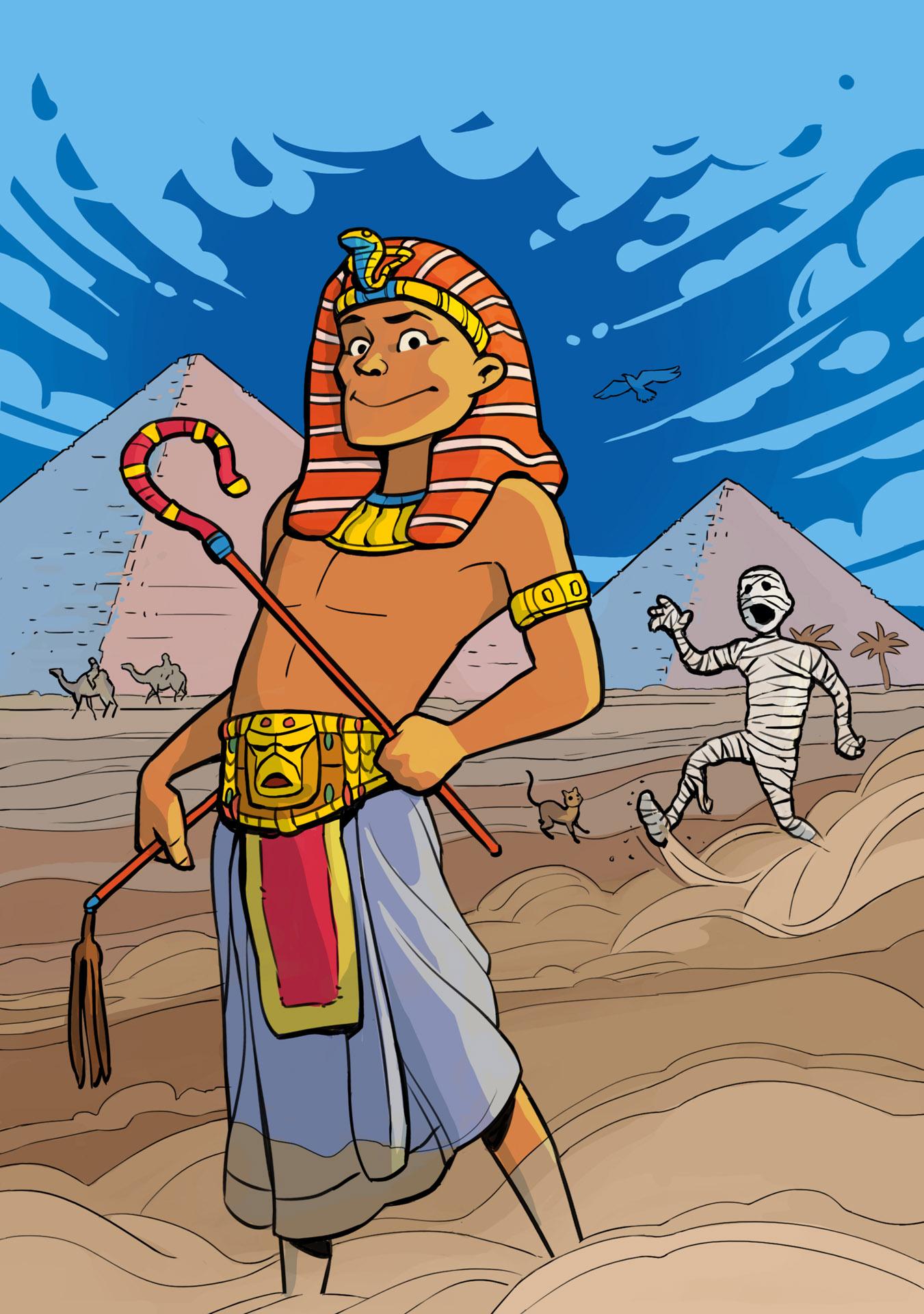 Det Gamle Egypt, Cappelen Damm, 2021