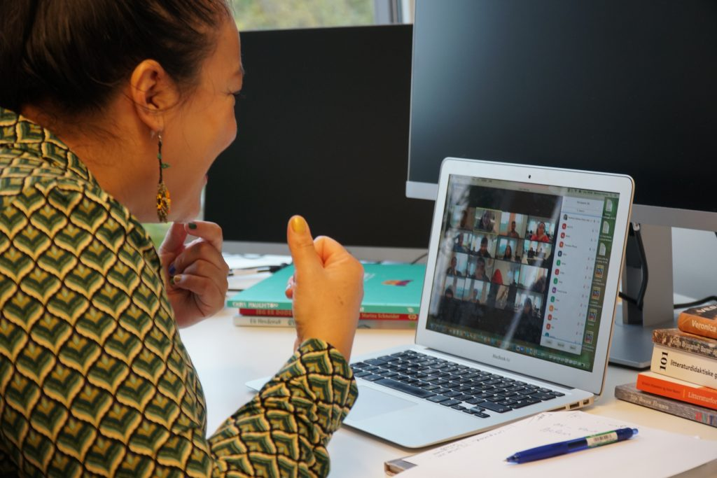 Veronica Salinas digital litteraturformidling