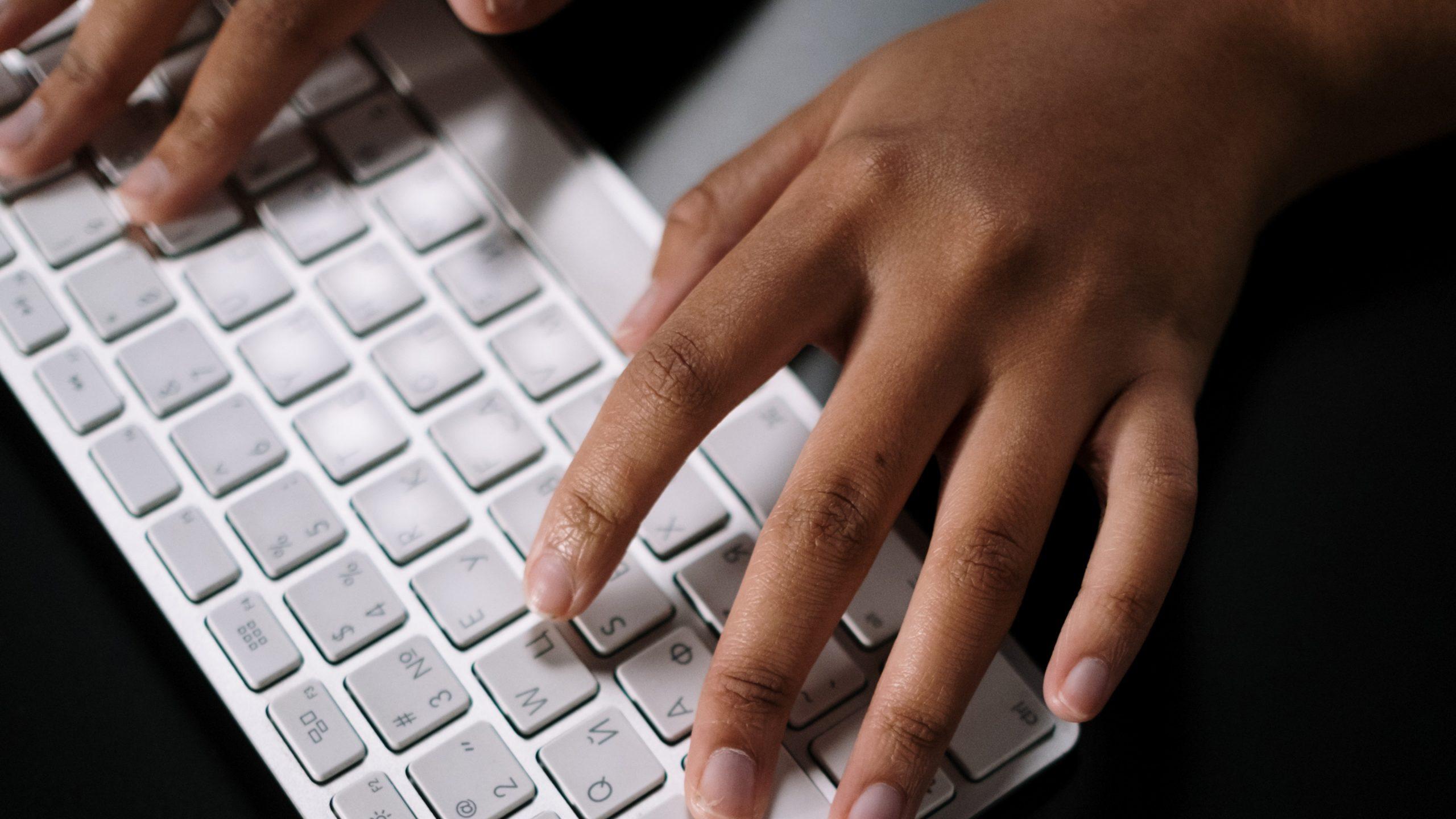 Illustrasjonsbilde tastatur