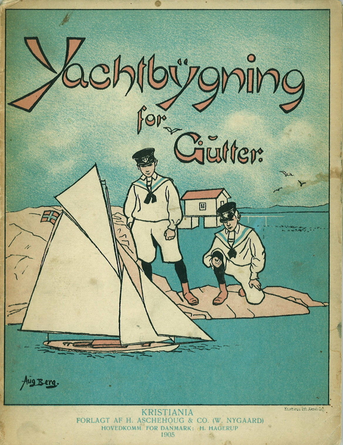 Yachtbygning for gutter. Af Sailor. Kristiania