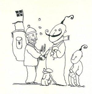 Kurt møter Erling. Erlend Loe og Kim Hiorthøy: Fisken